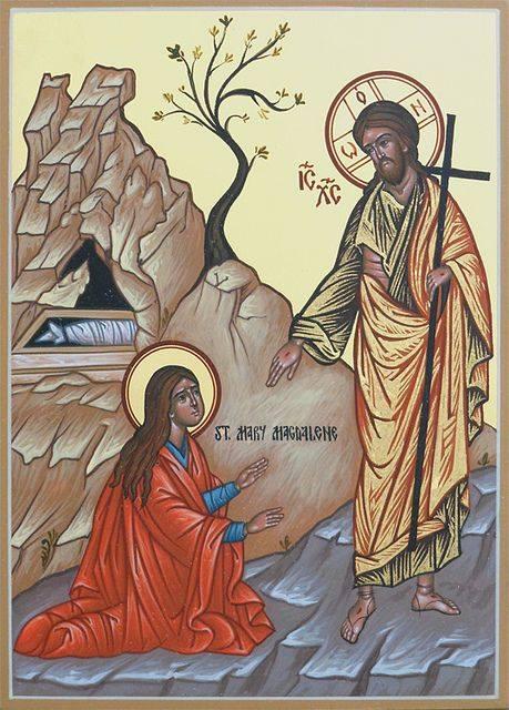 """""""Cuando Maria escuchó que Jesús la llamaba por su nombre, toda su vida cambió. ¿Has escuchado a Jesús pronunciar el tuyo?"""""""