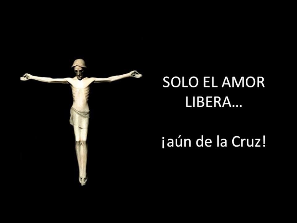 """""""Dar testimonio del amor de Jesús, no es un camino ausente de conflictos, basta contemplar la Cruz para comprenderlo y no sentirnos solos."""""""