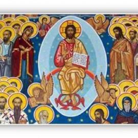 """""""La alegría del cristiano se funda en que Dios 'hizo en él maravillas'. Aquí radica la santidad, dejar a Dios hacerse hombre en nosotros."""""""