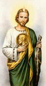"""""""El amor nos sana cuando lo compartimos desde Dios, con Dios y por Dios. San Judas ayúdanos a creer en ese amor que te cautivó."""""""